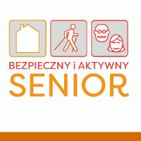 """Logo kampanii """"Bezpieczny i aktywny senior"""""""